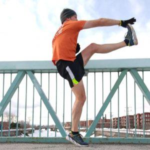 Dynamic warm up before a run